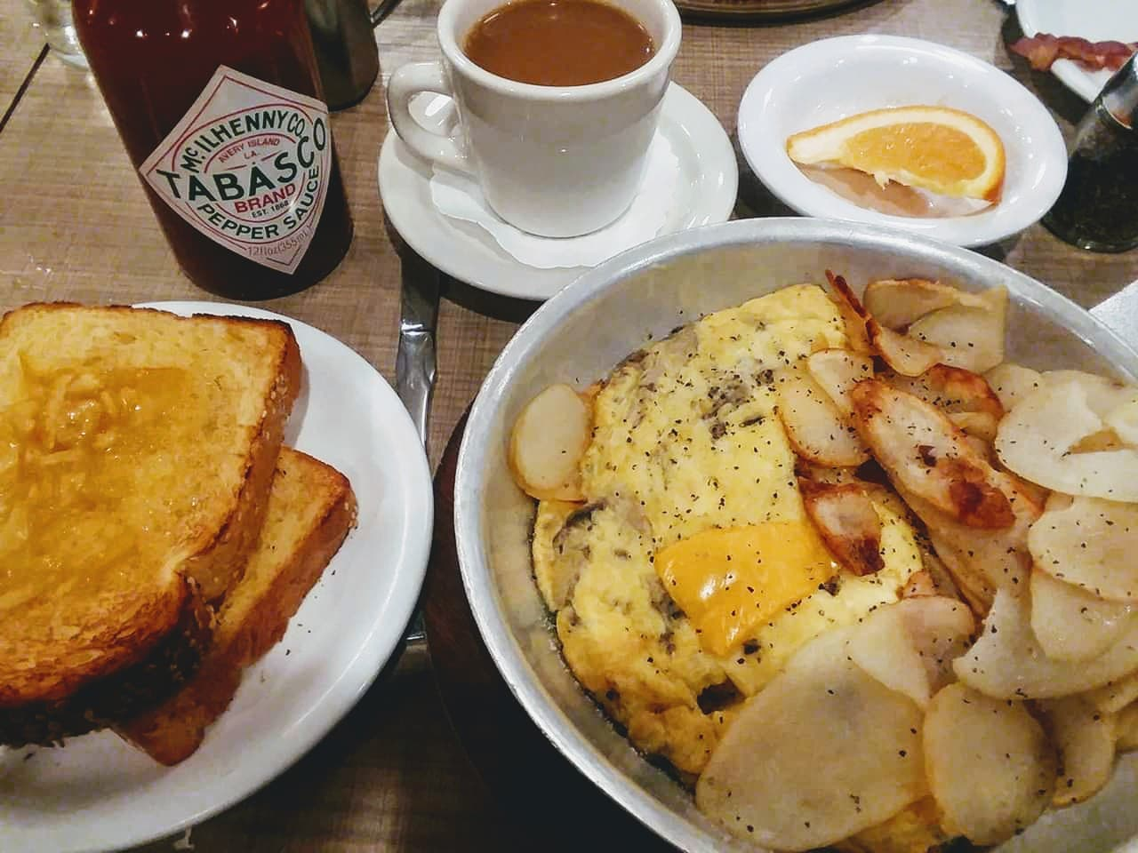 Breakfast at Lou Mitchell's in Chicago